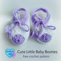 Cute Little Baby Booties ~ Erangi Udeshika - Crochet For You