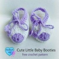 Cute Little Baby Booties ~ Erangi Udeshika – Crochet For You