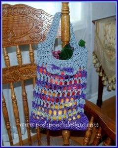Cordial Shopping Bag ~ Sara Sach - Posh Pooch Designs