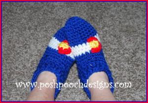 Colorado Slippers ~ Sara Sach - Posh Pooch Designs