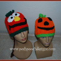 Silly Pumpkin Hat ~ Sara Sach - Posh Pooch Designs