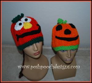 Silly Pumpkin Hat ~ Sara Sach - Posh Pooch Designs