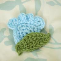 Tulip-Like Flower Applique ~ Alli Crafts