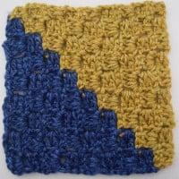 Diagonal Box Stitch Square ~ Marie Segares - Underground Crafter