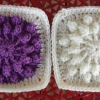 "Burst of Popcorns 6"" Square ~ DragonFlyMomof2 Designs"