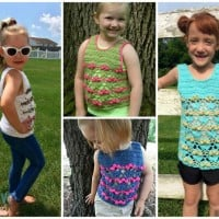 Blooming Flowers Tank Top ~ Creative Threads by Leah – Cre8tion Crochet
