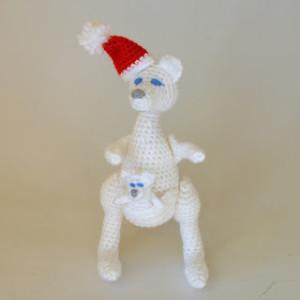 Christmas Kangaroo ~ Kim Lapsley Crochets