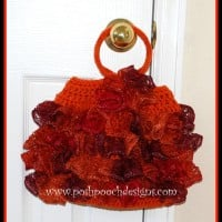 Lace Ruffle Bag ~ Sara Sach - Posh Pooch Designs