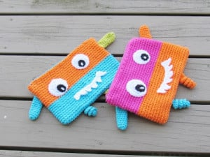Monster Pencil Case or Pouch ~ Crochet Dreamz