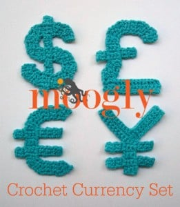 The Moogly Crochet Currency Set ~ Moogly
