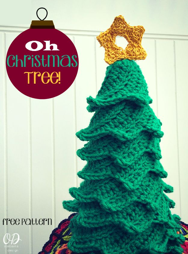 Oh Christmas Tree Free Crochet Pattern