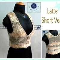 Latte Short Vest ~ Maz Kwok's Designs