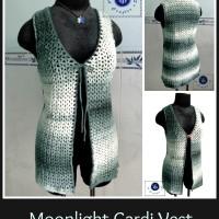 Moonlight Cardi Vest ~ Maz Kwok's Designs