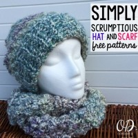 Simply Scrumptious Slouch Hat ~ Oombawka Design