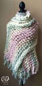 Gentle Solace Prayer Shawl ~ Oombawka Design