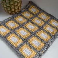 "12"" Block and Custom Blanket ~ Moogly"