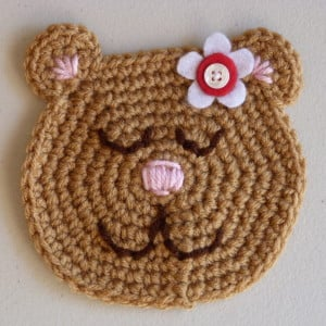 Susie Bear Applique ~ Amy - Crochet Spot