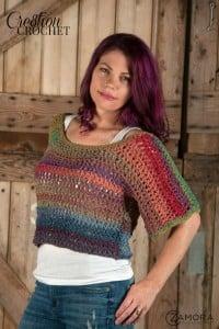 Textures Top ~ Lorene Eppolite - Cre8tion Crochet