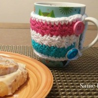 Wrapped in Stars Mug Cozy ~ Diane Hunt – Cre8tion Crochet