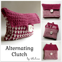 Alternating Clutch ~ Rhelena – CrochetN'Crafts