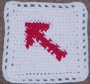 Arrow Afghan Square – Crochet N More