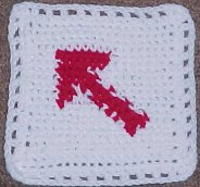 Arrow Afghan Square - Crochet N More