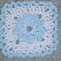 Baby Afghan Square ~ Crochet N More