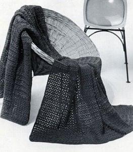 Afghan Pattern Style No. 3785 ~ Free Vintage Crochet