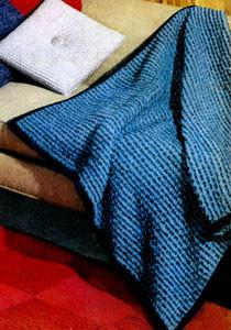 Afghan Pattern ~ Free Vintage Crochet