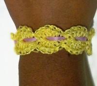 Double Shell Bracelet ~ Crochet Spot