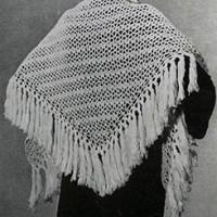Capelet ~ Free Vintage Crochet