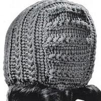 Teen-Age Hat ~ Free Vintage Crochet