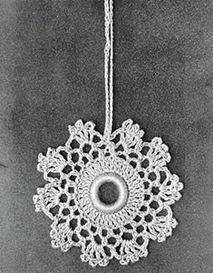 Curtain Pull #811 ~ Free Vintage Crochet