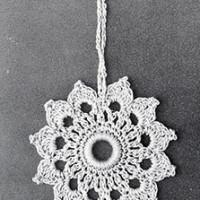 Curtain Pull #813 ~ Free Vintage Crochet
