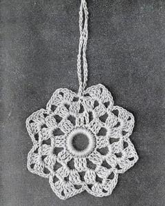 Curtain Pull #816 ~ Free Vintage Crochet