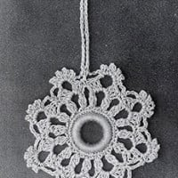 Curtain Pull #820 ~ Free Vintage Crochet