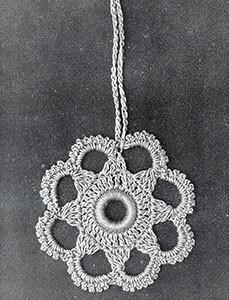 Curtain Pull #823 ~ Free Vintage Crochet