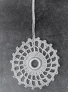 Curtain Pull #825 ~ Free Vintage Crochet
