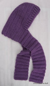 Tween's Hooded Scarf ~ Suzies Stuff