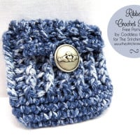 Ribbed Crochet Pouch ~ Goddess Crochet - The Stitchin' Mommy