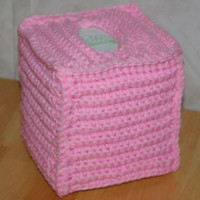 Ribbed Boutique Tissue Cover ~ Crochet N More