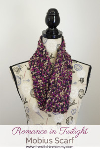 Romance in Twilight Mobius Scarf ~ The Stitchin' Mommy