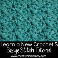 Sedge Stitch Tutorial and Square ~ The Stitchin' Mommy