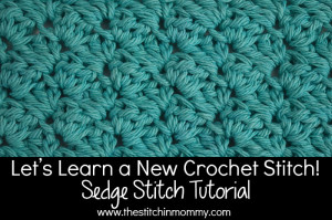 Sedge Stitch Tutorial and Square ~ The Stitchin' Mommy