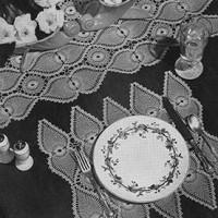 Luncheon Set #7767-B ~ Free Vintage Crochet