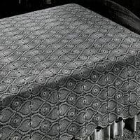Bedspread or Tablecloth ~ Free Vintage Crochet