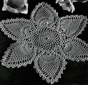 Doily #7768-A ~ Free Vintage Crochet