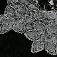 Tablecloth #7768-C ~ Free Vintage Crochet