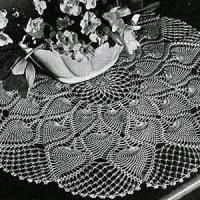 Centerpiece #7771 ~ Free Vintage Crochet