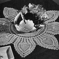 Doily #7773-A ~ Free Vintage Crochet